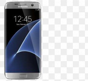 Samsung S7edge Material - Samsung Galaxy S8 IPhone X Samsung Galaxy S7 Smartphone Display Device PNG