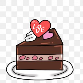 Chocolate Cake - Chocolate Cake Cream Sponge Cake Frosting & Icing Cupcake PNG