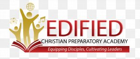 30 Anniversary - Logo Edified Christian Academy Brand Font PNG