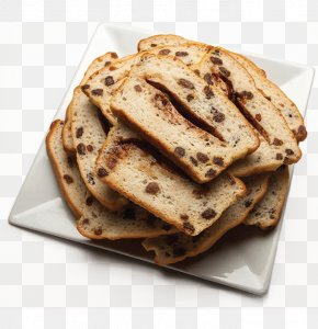 Toasted Bread - Raisin Bread Bakery Muffin Food PNG