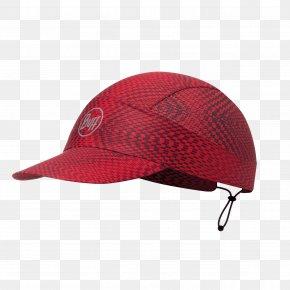 Cap - Cap Buff Clothing Running Red PNG