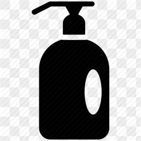 Vector Shampoo Icon Black - Shampoo Soap Personal Care PNG