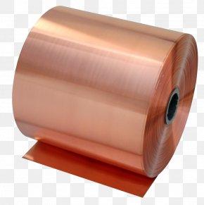 Metallic Copper - Copper Tape Beryllium Copper Bronze Sheet Metal PNG