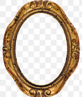 European Mirror - Picture Frame Stock Photography Oval Antique PNG