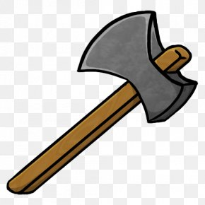 Transparent Axe Cliparts - Minecraft Pickaxe Icon PNG