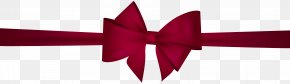 Red Bow Clip Art - Red Blue Clip Art PNG