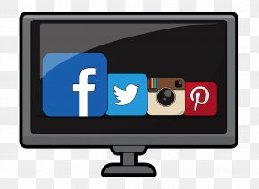 Social Media Clipart - Social Media Marketing Home Business Advertising Multimedia PNG