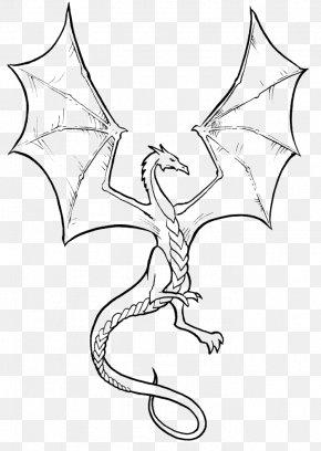 Dragon - Coloring Book Chinese Dragon Fantasy Child PNG
