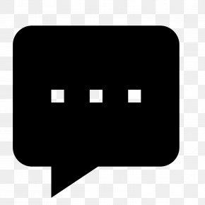 SPEECH BUBBLE - Speech Balloon Text Typing PNG