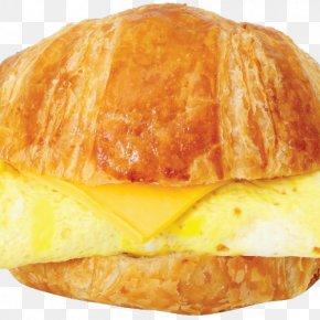 Egg Sandwich - Croissant Breakfast Sandwich Ham And Cheese Sandwich Pastizz Danish Pastry PNG