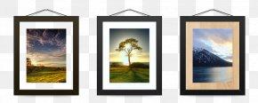 Home Decoration Landscape For Photo - Picture Frames PNG
