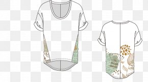Short-sleeved Floral Pattern Vector - Sleeve T-shirt Clothing PNG