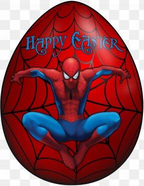 Kids Easter Egg Spiderman Clip Art Image - Spider-Man (Miles Morales) Iron Man Marvel Cinematic Universe Easter Egg PNG