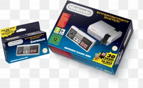 Nintendo - Super Nintendo Entertainment System Wii U NES Classic Edition PNG