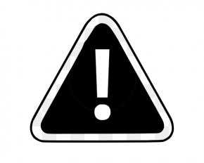 Black And White Road Signs - Traffic Sign Warning Sign Black And White Clip Art PNG