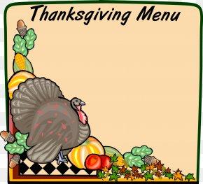 Turkish Border Cliparts - Thanksgiving Dinner Turkey Clip Art PNG