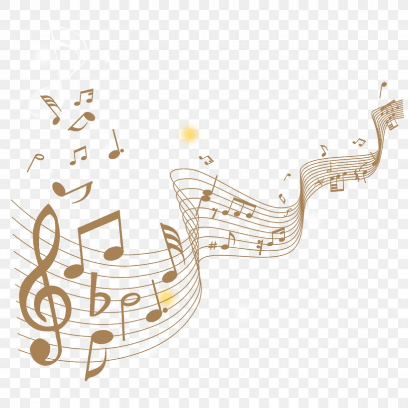 Musical Note Staff, PNG, 3000x3000px, Watercolor, Cartoon, Flower, Frame, Heart Download Free