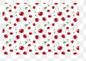 Red Hand Painted Cherry Pattern - Cherry Computer Mouse Red Mousepad Pattern PNG