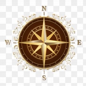 Compass Compass - Compass Rose North Map PNG