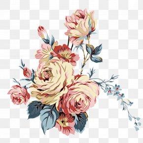 Watercolor Painting Illustration Floral Design Clip Art PNG