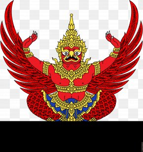 Thailand - Emblem Of Thailand Garuda National Emblem Flag Of Thailand PNG