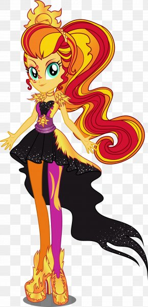 Shine Cliparts - Sunset Shimmer Rarity My Little Pony: Equestria Girls Dress Clip Art PNG
