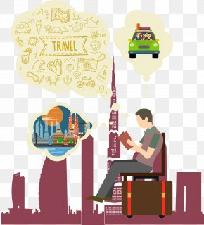 Vector Travel Abroad - Tourism Clip Art PNG
