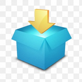 Blue Title Box - Dropbox Computer File Synchronization Download PNG