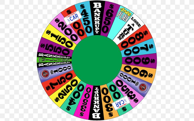 Wheel Of Fortune 2 Game Show Television, PNG, 512x512px, Watercolor, Cartoon, Flower, Frame, Heart Download Free