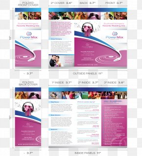 Design - Brochure Flyer Template Publishing Printing PNG