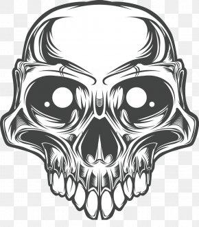 Skull - Skull Bone PNG