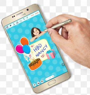 Smartphone - Smartphone Samsung Galaxy Note 5 Feature Phone Stylus PNG