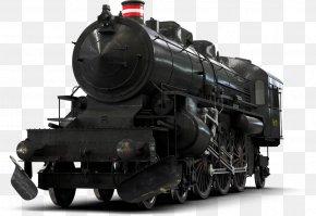 Train Steam - Rail Transport Train Steam Locomotive PNG