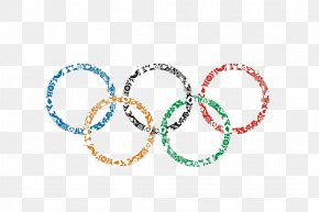 The Olympic Rings - 2016 Summer Olympics 1984 Summer Olympics 2020 Summer Olympics 1964 Winter Olympics 2024 Summer Olympics PNG