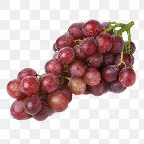 A String Of Purple Grapes - Grape Organic Food Frutti Di Bosco Health PNG
