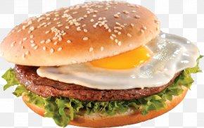 Hamburger - Hamburger Cheeseburger Breakfast Sandwich Fast Food PNG
