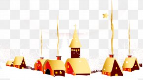 Snow House - Christmas Gift New Year Dream PNG