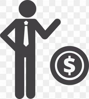 A Dollar Sign; A Speech Villain - Human Resource Management Service Business Industry Software PNG