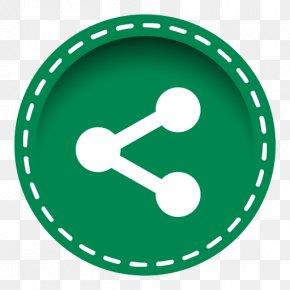 Share Circle Icon - Social Media Share Icon LinkedIn PNG