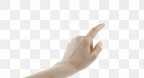 Touch - Finger Thumb Hand Model Arm PNG