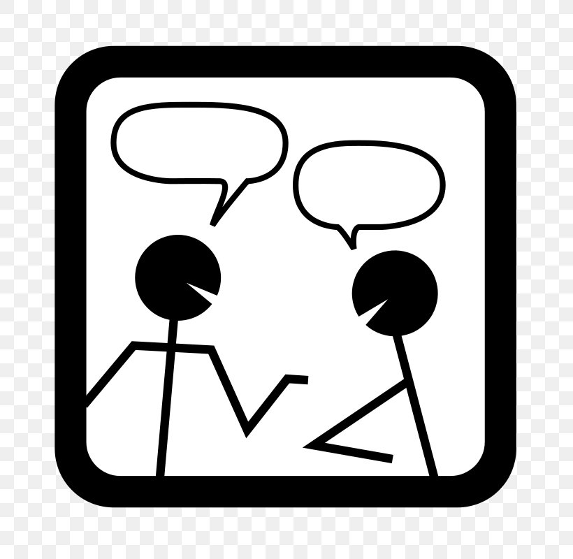 Online Chat Smiley Icon, PNG, 800x800px, Online Chat, Area, Black And White, Chat Room, Chatroulette Download Free