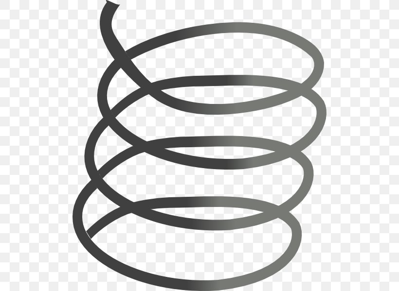 Spring Metal Steel Clip Art, PNG, 522x599px, Spring, Area, Black And White, Coil Spring, Constantforce Spring Download Free