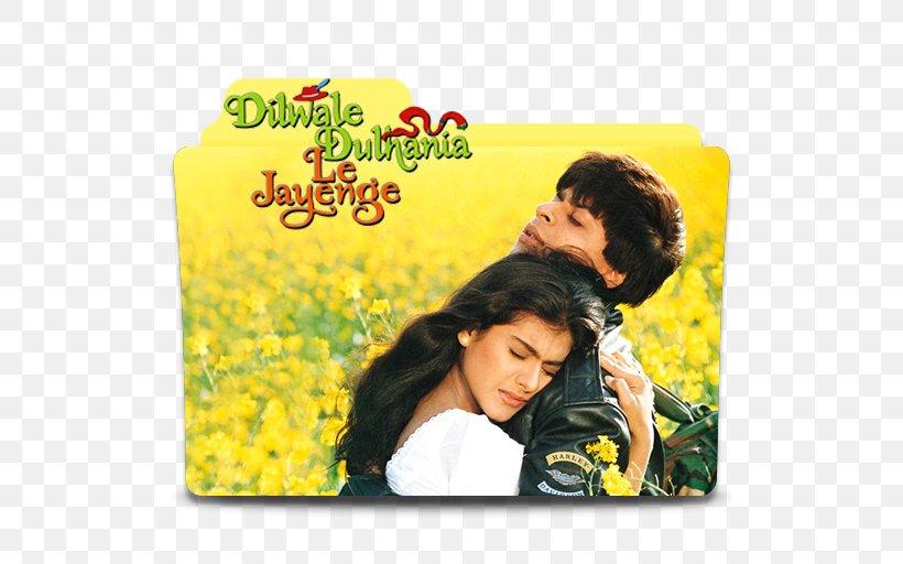 Shah Rukh Khan Dilwale Dulhania Le Jayenge YouTube Romance Film Bollywood, PNG, 512x512px, Shah Rukh Khan, Album Cover, Bollywood, Dilwale Dulhania Le Jayenge, Film Download Free