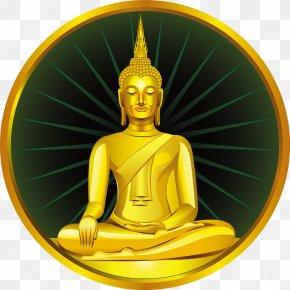 Gold Lord Buddha - Golden Buddha Gautama Buddha Buddhahood Buddha Images In Thailand Buddhism PNG