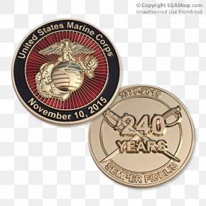 United States - United States Marine Corps Devil Dog Marines Coin PNG