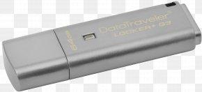 USB Flash Drives Kingston Technology USB 3.0 Computer Data Storage Flash Memory PNG