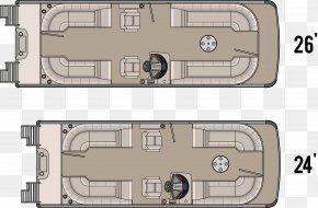 Boat - Floor Plan Pontoon Houseboat Interior Design Services PNG