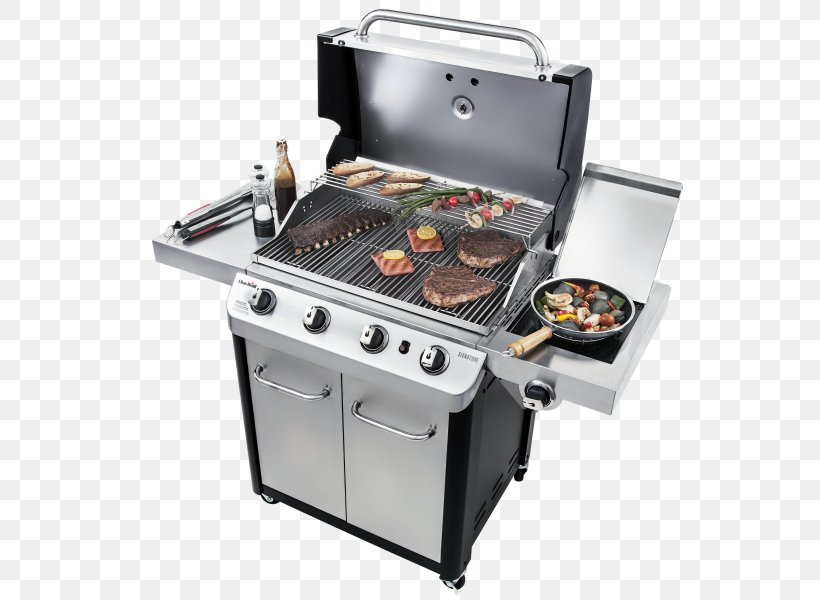 Barbecue Char-Broil Signature 4 Burner Gas Grill Grilling Gasgrill, PNG, 600x600px, Barbecue, Barbecue Grill, Brenner, Charbroil, Charbroil Truinfrared 463633316 Download Free