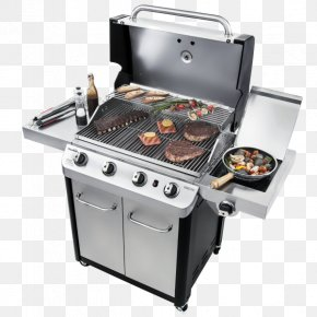 Barbecue - Barbecue Char-Broil Signature 4 Burner Gas Grill Grilling Gasgrill PNG
