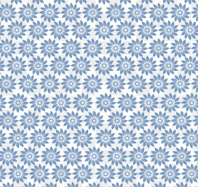 Romantic Blue Flower Pattern - Blue Game Pattern PNG